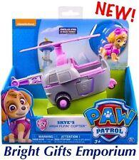 Paw Patrol Skye High Flyin Copter GENUINE Sky Stella Figure Helicopter Vehicle