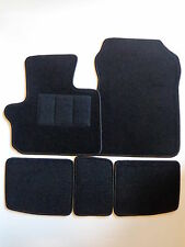 Fußmatten Autoteppiche für Toyota iQ 01/2009- schwarz 5 tlg