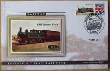 2009 Ltd Ed Benham Error Cover - NER  CME Special Train