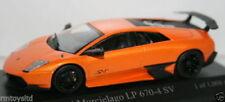 Voitures, camions et fourgons miniatures orange MINICHAMPS pour Lamborghini