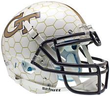 GEORGIA TECH YELLOW JACKETS Schutt AiR XP Full Size AUTHENTIC Football Helmet