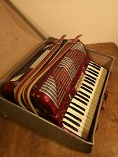 More details for 1960s stunning timewarp rare concordia 120 bass accordion in its original case