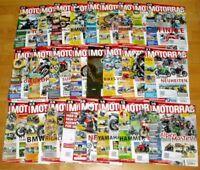 25x Motorrad 2013 fast komplett Jahrgang Zeitschrift Hefte 1-26 Sammlung bike