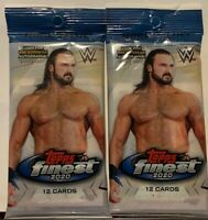 2020 WWE Topps Finest Cello Packs (2 Pack Bundle)  Now In Stock