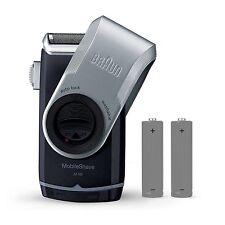 Rasoio Elettrico da Viaggio Mobile Shave Braun M90, con lamina Smart FoilTM