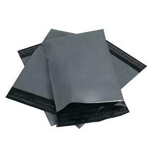 """50 Strong Grey Mailing Bags 12 x 16"""" Parcel Postage Plastic Post Poly Self Seal"""