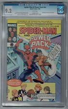 SPIDER-MAN & POWER PACK ABUSE PREVENTION ISSUE CGC 9.2 NM- WP MARVEL COMICS 1984