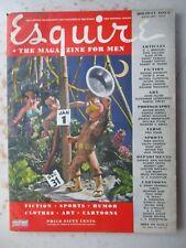 Esquire Magazine - January 1944 with VARGA Calendar, WWII