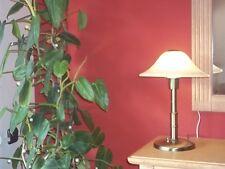 Honsel Lampe Tischlampe Schreibtischlampe Stehlampe GlasSchirm runde Form massiv