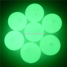 13475 10PCS Glow in the dark 18mm Plastic Loose Beads Spacer Bead Glow Beads