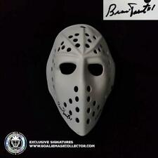 "Bernie Parent Signed Goalie Mask Autographed Toronto 3/4 ""Fibrosport"" Vintage"
