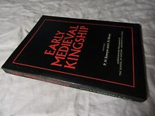 Early Medieval Kingship - Sawyer & Wood - Paperback Book #Cobb