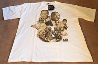 NWT MLK Malcolm X Jackie Robinson Hip Hop Rap Black Heritage Inc Shirt Size 4XL