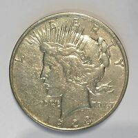 1923-D Peace Silver Dollar - Check the  High Quality Scans #D394