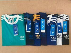 Adidas T Shirt Mens Crew Neck Short Sleeve Cotton Tee California Trefoil T-Shirt