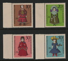 OPC 1968 Germany Dolls Semi Postal Set Sc#B438-441 Mi#571-574 MNH VF 28099