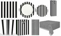 Stirped Stripes Party Tableware Supplies Decorations Birthday Plates Cups