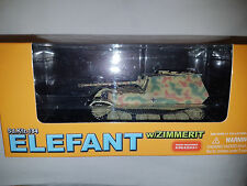 Carro Armato Sd.Kfz.184 Elefant w/ZIMMERIT- Scala 1:72 Die Cast - Dragon - Nuovo