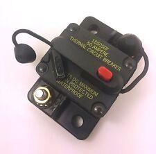 Bussmann DC Circuit Breaker 50 Amp Surface Mount Waterproof CB185-50 185050F