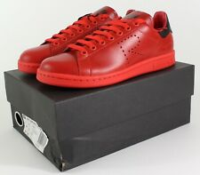 Adidas Raf Simons Stan Smith in Red/Black (SZ. 7) ~ Damaged Box BA7377