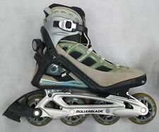 Rollerblade Specialized Aero Inline Roller Skates Womens 9 PFS PULL QUICK LACE