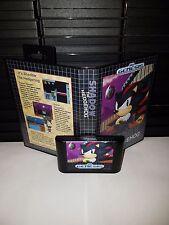 Shadow the Hedgehog Game for Sega Genesis! Cart & Box