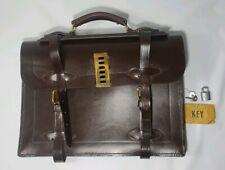 Vintage Corbin Leather Briefcase Type II US Federal Spec KK-B-650 Rare