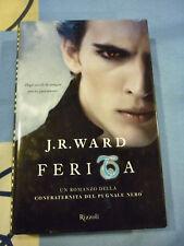 FERITA J.R. WARD confraternita del pugnale nero