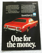 1973 Plymouth Duster 340 - Ad