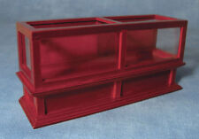 Shop Display Counter in Mahogany, Dolls House Miniature Shop Furniture