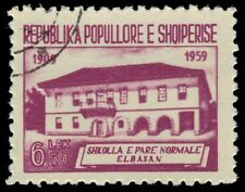ALBANIA 560 (Mi608) - Elbasan Secondary School (pf26992)