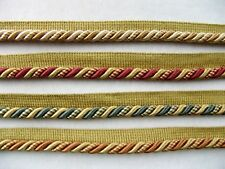 """Many Colors Available! 18 Continuous Yards 3//8/"""" Metallic Piping with Lip Trim"""