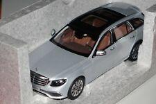 Mercedes E-Klasse S213 T-Modell silber 1:18 iScale neu & OVP B66960384