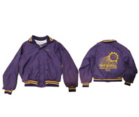 Don Alleson Athletic Vintage Bomber Jacket Large Hobart Basketball FREE SHIPPING