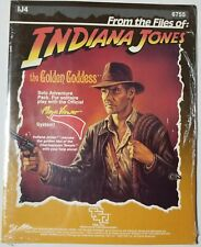 IJ4 - The Golden Goddess - Indiana Jones Solo Adventure -TSR - Sealed