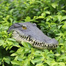 New ListingFloating Crocodile Head Pond Pool Alligator Water Features Garden Decoration