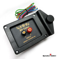2-Way Passive Crossover s 8Ohm 2.2KHz W Terminal Plate INFINITY RS-VIDEO CENTER