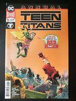 ⭐️ TEEN TITANS #1a Annual (2019 DC Universe Comics) VF/NM Comics