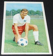 LÖFFLER HAMBOURG HAMBURG HSV FUSSBALL 1966 1967 FOOTBALL CARD BUNDESLIGA PANINI
