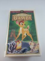 Walt Disney's Bambi- 55th Anniversary Masterpiece Collection--1997, VHS