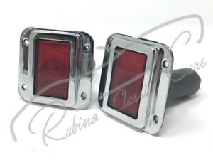 DOOR LIGHTS CARELLO FERRARI 275 330 MASERATI 3500 LANCIA FLAMINIA ZAGATO TOURING