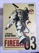 Ma.K Sentinal 1/16 S.A.F.S FIREBALL Figure Series 03 Maschinen Krieger