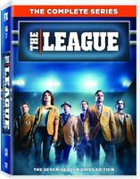 The League Season 1 2 3 4 5 6 7 Series One to Seven (Mark Duplass) Region 1 DVD