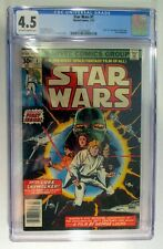 Star Wars #1 Bronze Age Marvel Comic Book 1977 CGC 4.5
