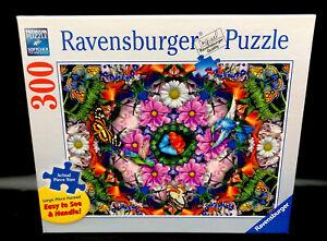 Ravensburger Premium Flowers & Butterflies 300 Large Piece Format Puzzle #135554