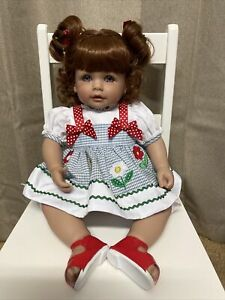 """ADORA """"Name Your Own Baby"""" Doll Red Hair Blue Eyes 18 inch"""