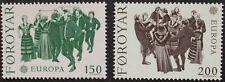 Europa stamps, 1981, Faroe Islands, SG ref: 62 & 63, MNH