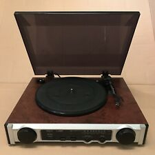 MT-PH02 Record Player With Tuner and Built In Speakers - Has Line Out Socket