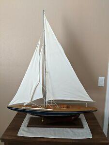 Decorative Model Sailboat