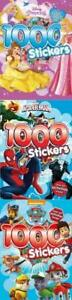 1000 Stickers Book  Three Different designs (Spiderman, Princess and Paw Patrol)